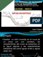 DISEÑO DE SIFON