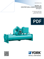BE Engineering Guide YK Centrifugal Chiller Mod H