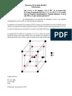 Ejercicios de Mineralogia Celda Unidad-Empaquetamiento