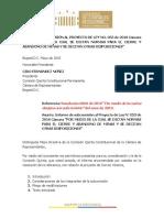 INFORME SUBCOMISIÓN Cierres Mineros 28 de Mayo
