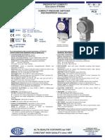 Pressure Switch Cella PTB131