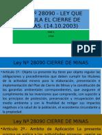 Ley Nº 28090 - LEY QUE REGULA EL.pptx