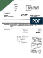 Ml Hu BlackRidge invoice