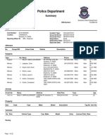 Sarasota Police Department summary