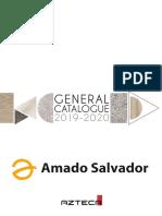 Catálogo General Azteca Cerámica 2019 - 2020 Amado Salvador