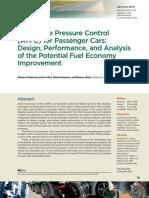 Adaptive Pressure Tyre