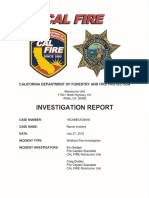 060619 Cal Fire Ranch fire investigative report