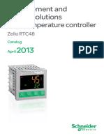 Schneider Electric - Temperature Controllers Catalogue (2013)