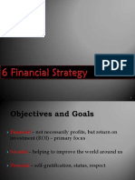 6 Financial Strategy