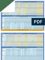 Air Train Timetable