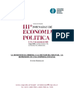 Ivonne La Resistencia Obrera a La Dictadura Militar
