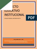 Proyecto Educativo Institucional 2019
