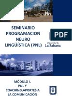 Modulo I PNL Coaching