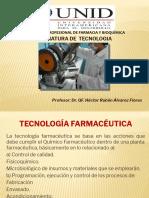 Asignatura de TecnologÃ-a Farmacéutica I