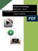Cbse information and communication technology class 10