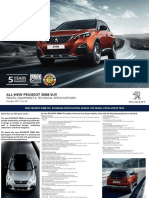 New Peugeot 3008 Suv Spec Sheet July 2017.283977
