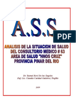 Analisis de La Situacion de Salud (Ass) Cmf 63