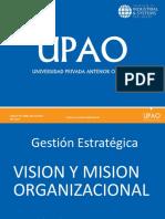 Visión y Misión en Las Organizaciones