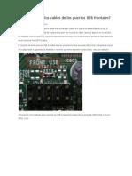 Cómo Conectar Los Cables de Los Puertos USB Frontales