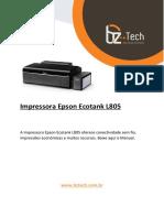 Manual Epson L805