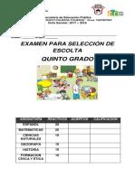 examen escolta 2018