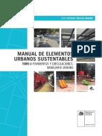 Manual de Elementos Urbanos Sustentables Tomo II Pavimentos Circulaciones Mobiliario