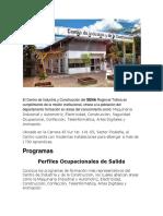 El Centro de Industria y Construcción.docx