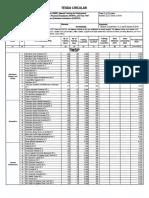 TESDA Circular No. 002-2019 - Schedule of Cost