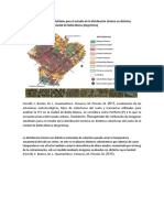 Utilización de Imágenes Satelitales Para El Estudio de La Distribución Térmica en Distintas Coberturas Del Suelo de La Ciudad de Bahía Blanca