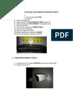 Configuracion Pyr Para Vcr Camaras en Dispositivo
