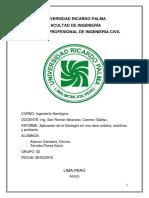 Informe Geologia en Una Obra Costera