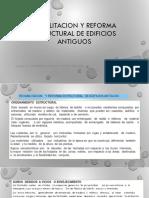 Reabilitacion y Reforma Estructural de Edificios Antiguos