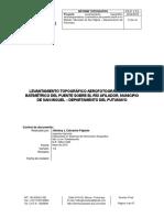 Informe Topografía Puente Afilador