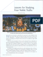 The Reasons for Studying the Four Noble Truths