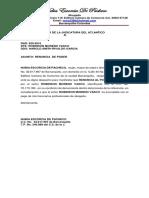 Descorrer Traslado Walter Peña vs Palmares Del Magdalena.