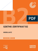 Goethe-Institut-Prüfung B2