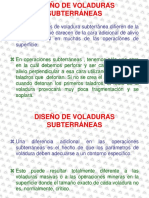 Diseño de Voladuras Subterráneas - x