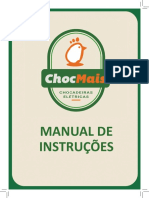 Manual Chocadeira Chocmais