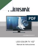 Televisor Led Smart 42 Mod. Ledsm42le4212 Ledsm42le4212