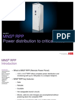 1TPMB04101 ABB MNS RPP Power Distribution to Critical Loads