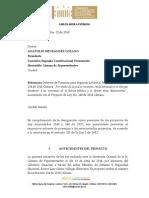 Ponencia Veteranos Segundo Debate Representante Carlos Ardila.