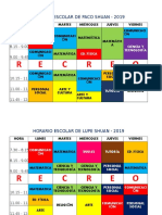 Horario Lupe