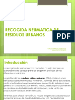Recogida Neumática de Residuos Urbanos
