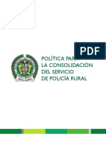Seguridad de La Policia Rural