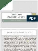 Diseño de investigación FONOAUDIOLOGÍA