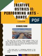 Dances in Luzon