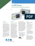 Eaton SPD Series Product Aid SPD PA01005003E