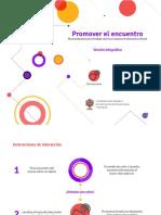 Promover el encuentro (versión infográfica)