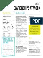 UNSTUCK Relationships at Work