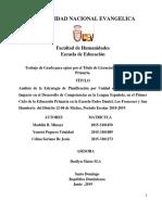 Ultima Tesis de Madelin Yoneiri y Celina Para Marisol. Para Grabar en CD